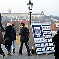 Art for Sale on Charles Bridge